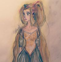 Rapunzel - Based off Claire Keane's Design by ForkNayon