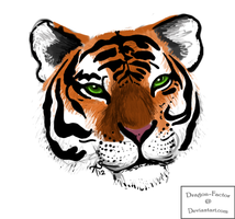 Tiger sketch by Dragon-Factor