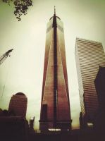 Rainy Day by the Freedom Tower by Vanessaxgisel
