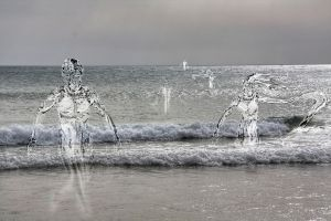 Water people's attack by mylostway