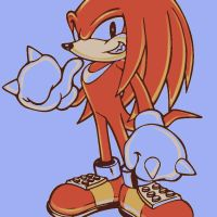 Knuckles the Echidna by DevintheCool