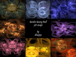 Garden Gazing Ball 3D Script by DeirdreReynolds