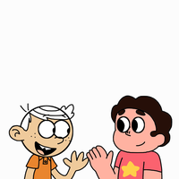 Lincoln Loud meets Steven Universe by MarcosPower1996