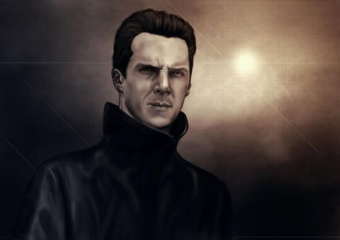 Into Darkness - Benedict Cumberbatch by Besaid