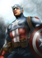 Captain America by DonaldGroat