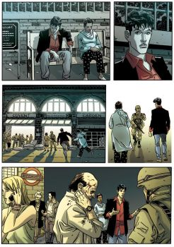 Dylan Dog - Color Fest v.2p.18 by ilpuci