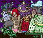 I want your brain. L.A Kaiju FAM by ExoesqueletoDV