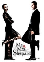 Mr and Mrs Shepard 4 by GeekTruth64