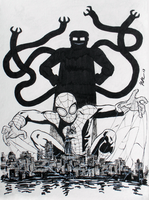 Superior Spider-Man is watching you by CagsCreations