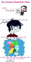 Marshall Lee - Favourite Character Meme by zenzatsionen