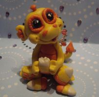 clay dragon choas by crazylittlecritters