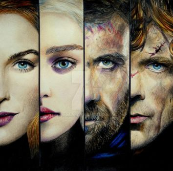 Game of Thrones Part 1/2 by Mim78