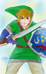 Link The Hero of Light SS by createandshow0407