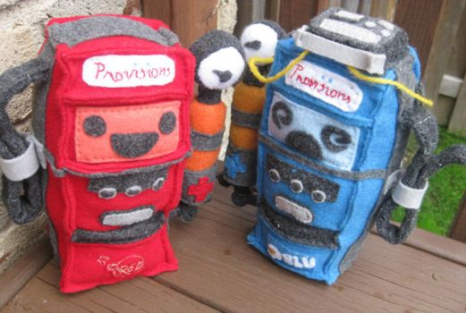 Team Fortress 2 Dispenser plushies by phooanimates