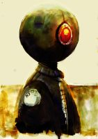 robot 2 color by toon13