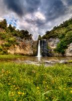 Hunua Falls II by chrisgin