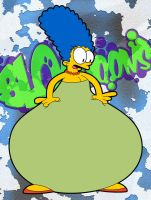 BLOAToons - Marge Simpson by AxleGrease-75