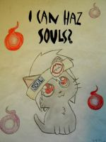 Soul kitty by Adventurer4ever