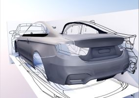 BMW M4 Coupe 7 by Artsoni3D
