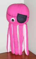 Pink Pirate Octopus by debra-e