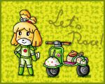 biker isabelle by ninpeachlover