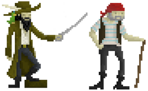 Pirate pixel Art! by Corporalgoogoo