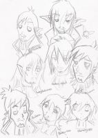 The many faces of Linebeck by NeoRinku