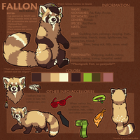 Fallon Reference by pandapoots