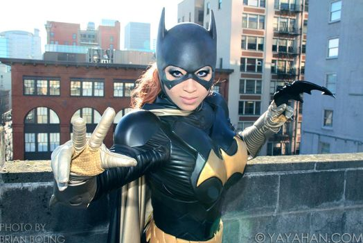 Batgirl Ready for Action by yayacosplay