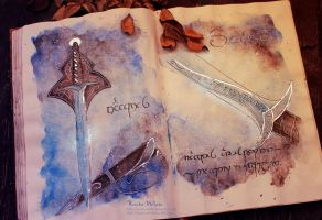 Sting: The Sword Of Bilbo Baggins by Kinko-White
