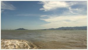 Approaching Penang by Isyala