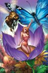 """Thumbelina"" Fairy Tale Fantasies 2012 by J-Scott-Campbell"
