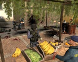 Distracting bananas by Garrys-Mod-Dude