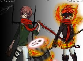 Both Inescapable, Both 'Lavi' by BambooFoxFire