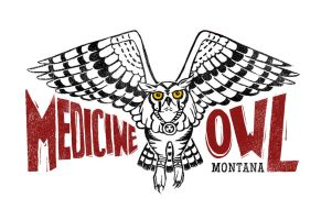 Mountains: Medicine Owl by MonicaMcClain