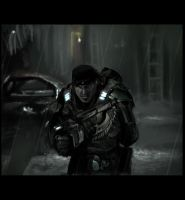 Gears Of War Speedpaint by Meiphon