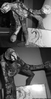 silent hill 3 Closer statue by YouCannotFalter