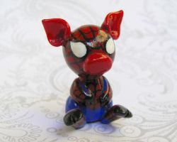 Spiderpig by DragonsAndBeasties
