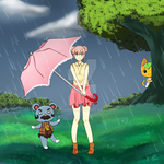 Rain drops by Emi-chanxx