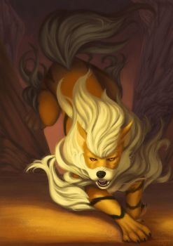 Arcanine by Electric-Raygun