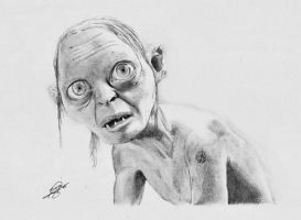 Gollum by BORJICH