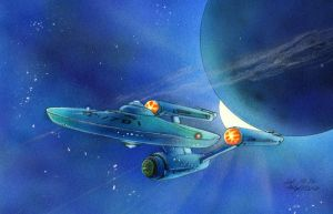 The Enterprise by Emushi