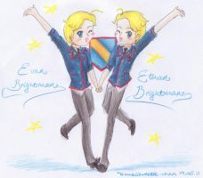Evan and Ethan Brightman by kawaiisweetie-chan