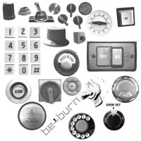 Buttons, switches and dials by BeBurn