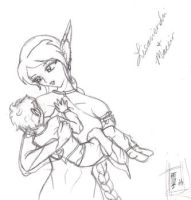 Mother and child.. by Yukiko-chan