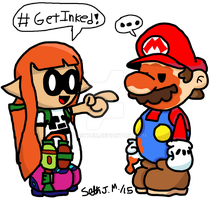 Paper Orange and The Dumbass Plumber by UltimateStudios