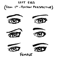 Female Eyes by CaptScott