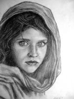 Afghan Girl by AubreesPassions