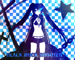 MIKU:Black Rock Shooter by yernclub