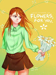 Flowers, for you. by Alilz